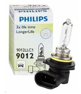 Автолампа HIR2 9012 12V 55W Long Life (PX22d) 9012 LL C1 PHILIPS