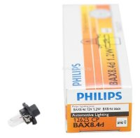 Автолампа  12V  W1,2W (BX8,4D) BLACK 12625 CP PHILIPS