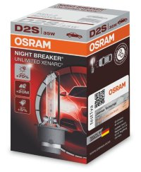 Автолампа D2S Ксенарк 35W  Night Breaker Unlimited (66240XNB) Osram