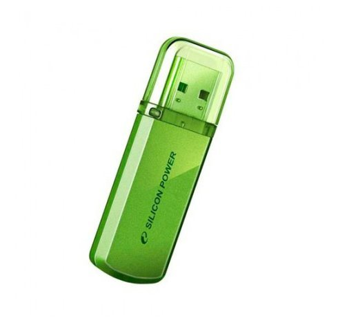 USB Flash Drive 8Gb Helios 101 Green Silicon Power