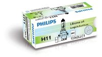 Автолампа H11 12V 55 W (PGJ19-2) Long Life ECO 12362 LLECO C1 PHILIPS