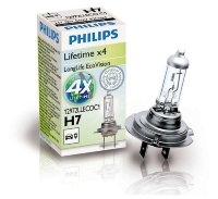 Автолампа H7 12V 55W (PX26d) Long Life Eco 12972 LLECO C1 PHILIPS