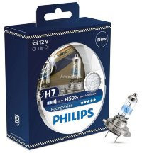 Автолампа H7 12V 55W (PX26d) Racing Vision +150% 12972  RV S2 PHILIPS
