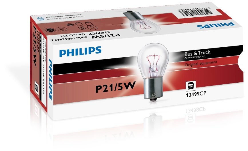 Автолампа  24V P21/5W (BAY15d)  13499 CP PHILIPS