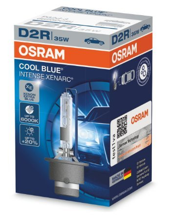 Автолампа D2R Ксенарк 35W Cool Blue Intense 66250 Osram