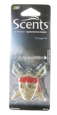 "Ароматизатор ""Череп"" Tortuga Air 4/24  SKU-104 MEDO"