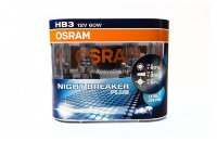Автолампа HB3 12V 60W (P20D) HCB NIGHT BREAKER plus+90% 9005NBPlus_EuroDuo OSRAM