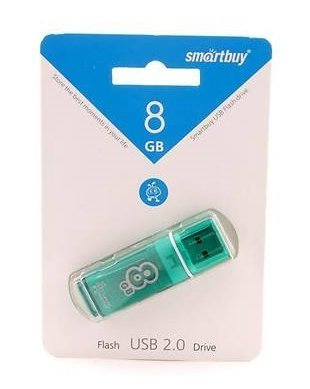 USB Flash Drive 8Gb Glossy SmartBuy