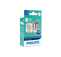 Светодиод 12V  P21W (BA15S) LED WHITE ULW 11498ULWX2 PHILIPS